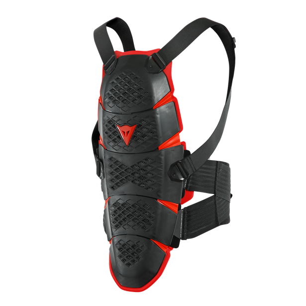 PRO-SPEED BACK - MEDIUM BLACK/RED- Espalda