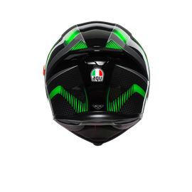 K5 S MULTI ECE DOT - HURRICANE 2.0 BLACK/GREEN - undefined