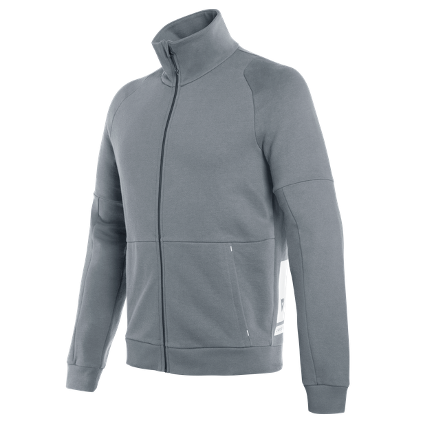 DAINESE FULL-ZIP SWEATSHIRT IRON-GATE- Lifestyle