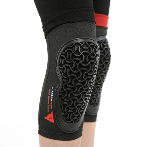 SCARABEO PRO KNEE GUARDS BLACK- undefined
