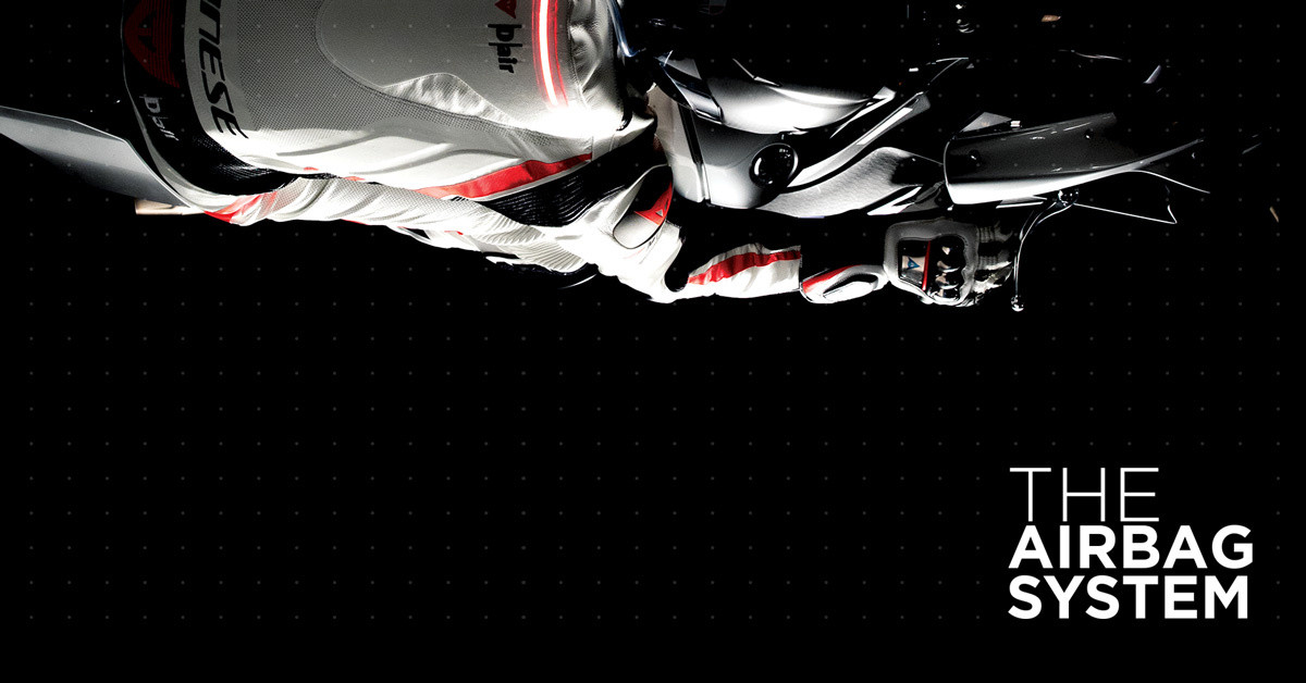 Dainese D-air® system - High level body protection system