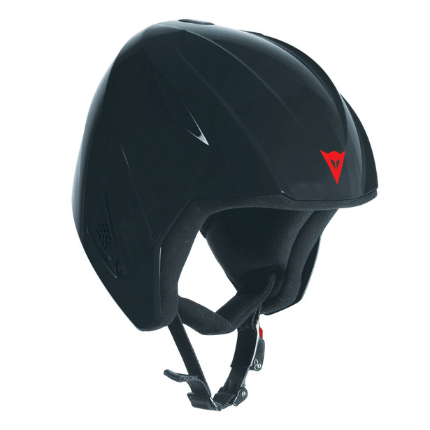 SNOW TEAM JR EVO HELMET - KID BLACK- Caschi