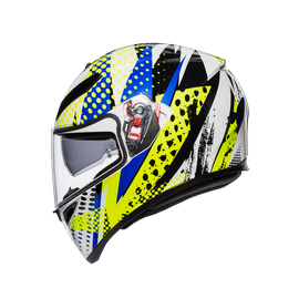 K3 SV MULTI ECE DOT - POP WHITE/BLUE/LIME - undefined