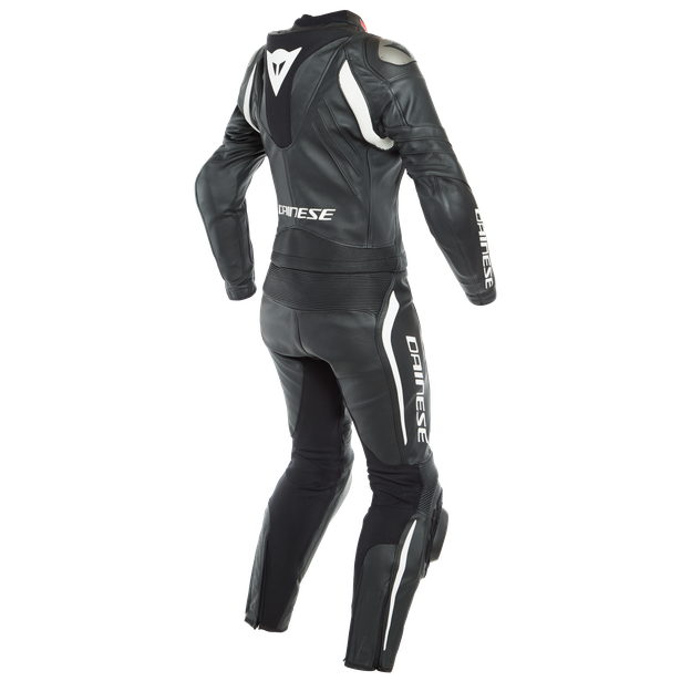 AVRO LADY D-AIR 2PCS SUIT BLACK/BLACK/WHITE- One Piece Suits