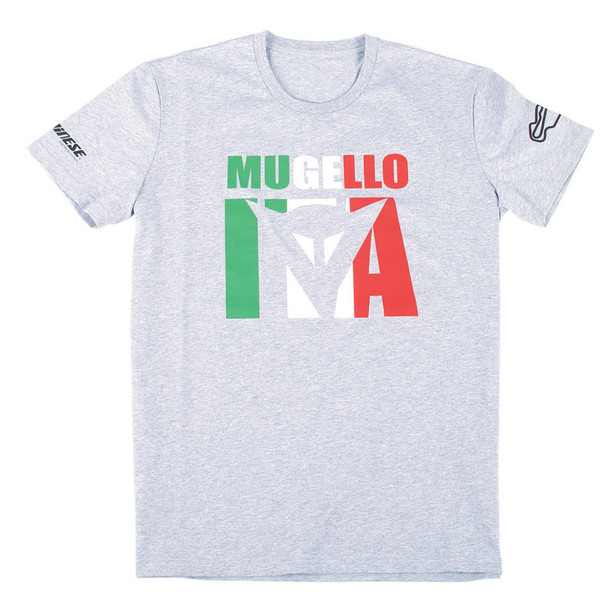 MUGELLO D1 T-SHIRT MELANGE-GRAY- Casual Wear