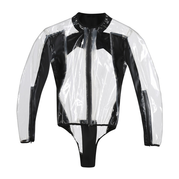 RAIN BODY RACING D1 TRANSPARENT/BLACK- RainWear