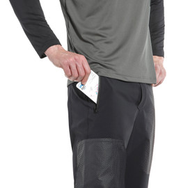HG GRYFINO II SHORTS BLACK/DARK-GRAY- Pantaloni