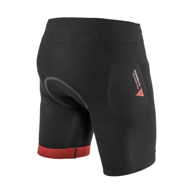 SCARABEO PRO SHORTS BLACK/RED- New arrivals