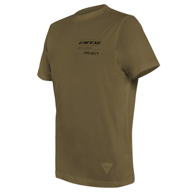 ADVENTURE LONG T-SHIRT MILITARY-OLIVE/BLACK- Casual Wear