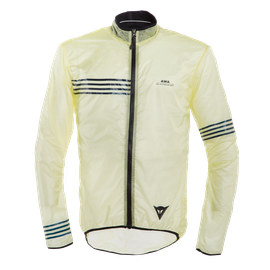 AWA WIND JACKET TENDER-YELLOW/BLACK-IRIS- Giacche