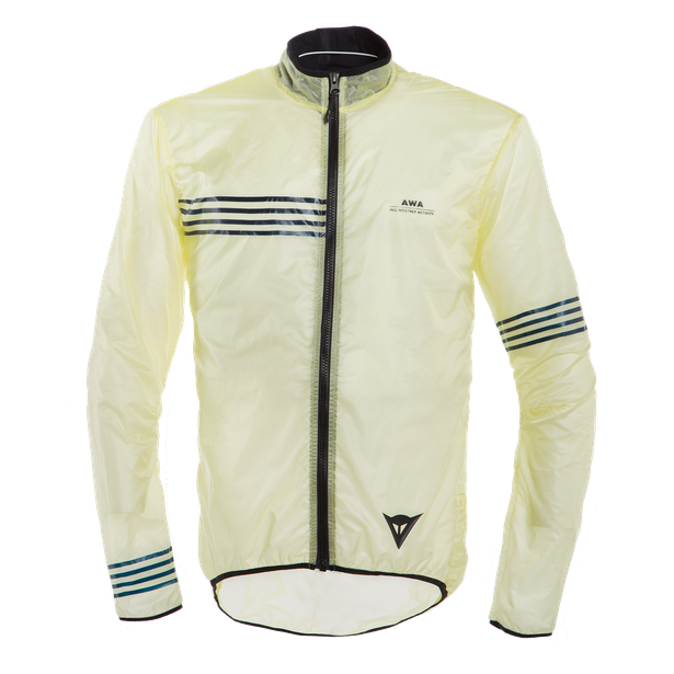 AWA WIND JACKET TENDER-YELLOW/BLACK-IRIS- Jackets