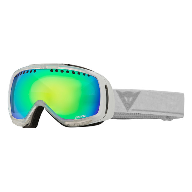 VISION AIR GOGGLES WHITE/ML GREEN (M 7040)- Goggles