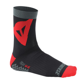 RIDING SOCKS MID BLACK/RED- Zubehör
