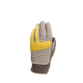 DJADO UNISEX GLOVES FEATHER-GRAY/MOREL/OLD-GOLD