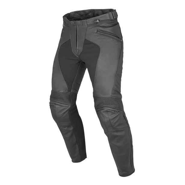 PONY C2 LEATHER PANTS BLACK- Leather