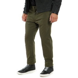 CASUAL REGULAR TEX PANTS OLIVE- Pantalones