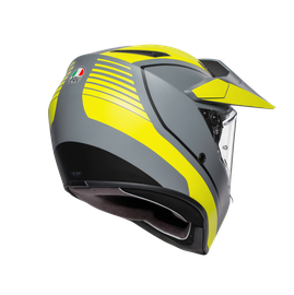 AX9 MULTI E2205 - PACIFIC ROAD MATT GREY/YELLOW FLUO/BLACK - AX9
