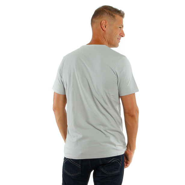 T-SHIRT PADDOCK TRACK  GLACIER-GRAY/WHITE- Casual Wear