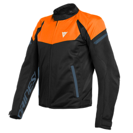 BORA AIR TEX JACKET FLAME-ORANGE/BLACK-IRIS/BLACK- Textil