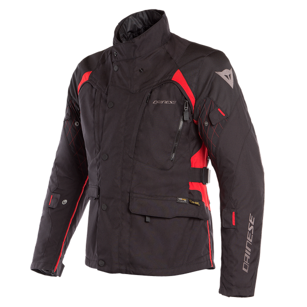 X-TOURER D-DRY JACKET BLACK/BLACK/TOUR-RED- D-Dry®