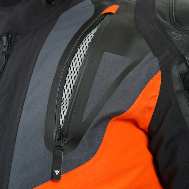 SPORT MASTER GORE-TEX JACKET BLACK/ORANGE/EBONY- Gore-Tex®